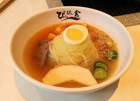 盛岡冷麺@ぴょんぴょん舎'17.11.4