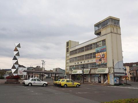 久慈駅前'17.11.4