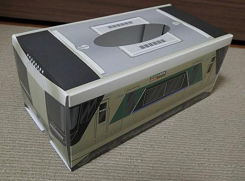 東武500系ティッシュボックス