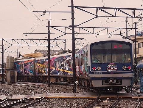 伊豆箱根鉄道3000系@いずはこねふれあいフェスタ'17.11.23