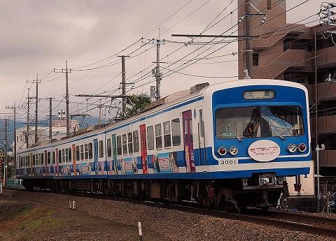 伊豆箱根鉄道3000系@三島広小路'17.11.23