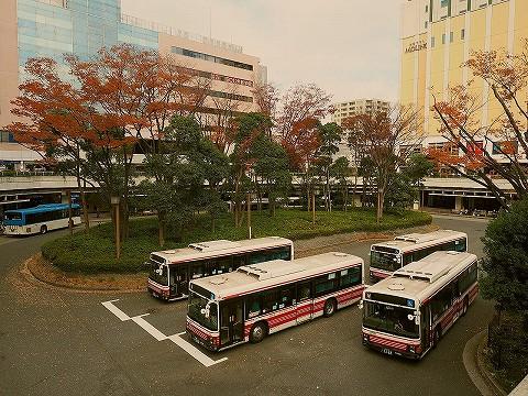 小田急バス@新百合ヶ丘'17.11.28