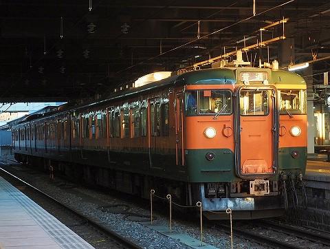 しなの鉄道115系@長野'17.12.2