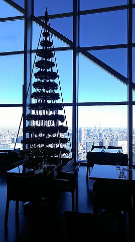 クリスマスツリー@ニューヨークグリル'17.12.9
