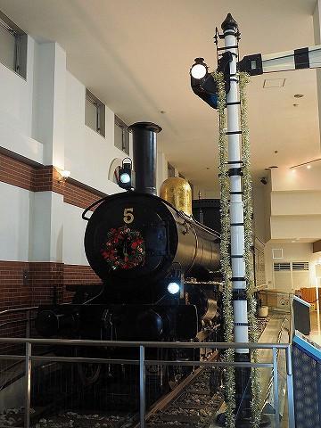 5号蒸気機関車@東武博物館'17.12.12