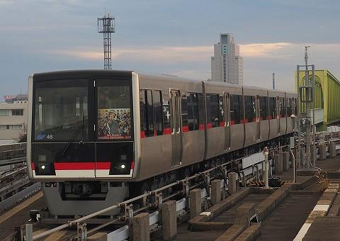 横浜シーサイドライン2000形@並木中央'17.12.16