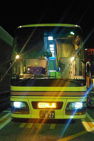 東北急行バス@羽生パーキングエリア'17.12.20