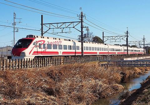 東武200系@鷲宮'18.1.3