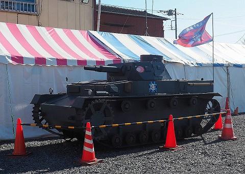 戦車模型@大洗'18.1.4