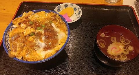 煮込みカツ丼@牛乳屋食堂'18.1.8