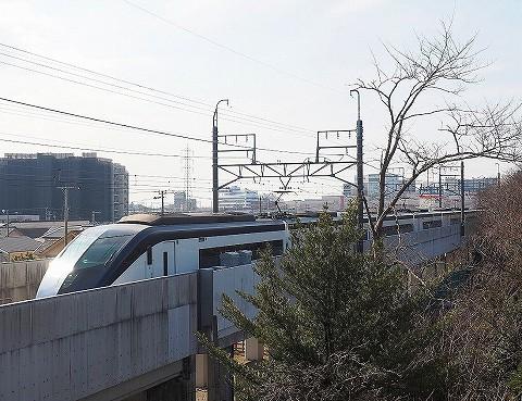 京成AE形@新鎌ヶ谷'18.1.21