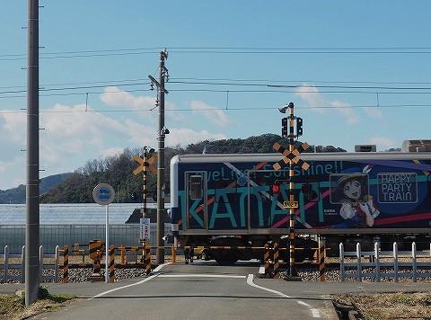 伊豆箱根鉄道3000系@韮山'18.2.12
