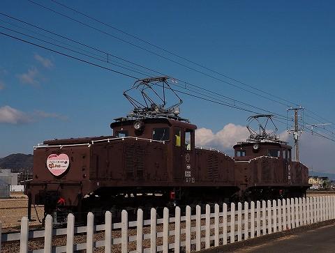 伊豆箱根鉄道ED32@韮山'18.2.12