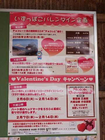 いずっぱこバレンタイン企画ポスター@伊豆仁田'18.2.12