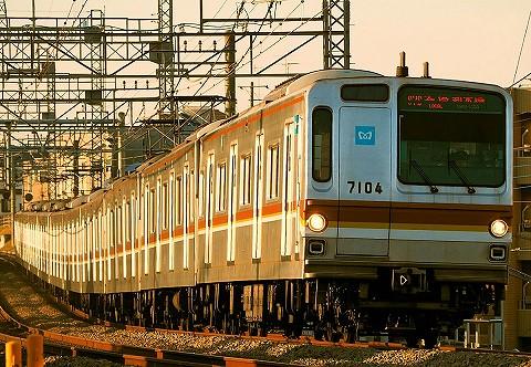 東京メトロ7000系@西所沢'18.2.18