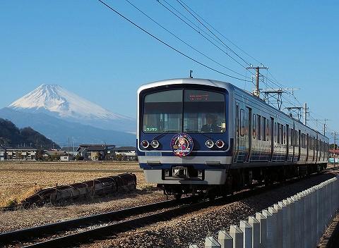 伊豆箱根鉄道3000系@韮山'18.3.2-1
