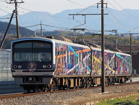 伊豆箱根鉄道3000系@韮山'18.3.2-2