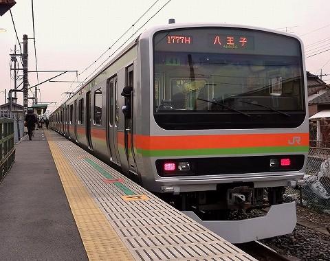 E231系@西川越'18.3.3