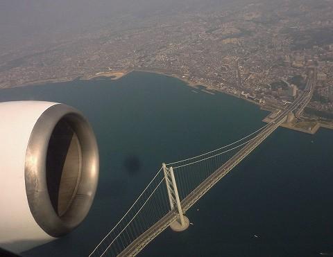 明石海峡大橋@BC103便'18.3.25
