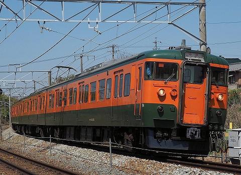 しなの鉄道115系@滋野'18.4.21-2
