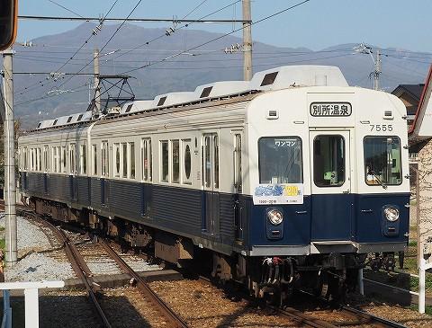 上田電鉄7200系@城下'18.4.21