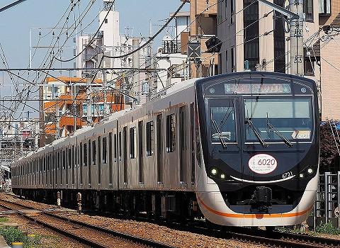 東急6020系@自由が丘'18.4.28