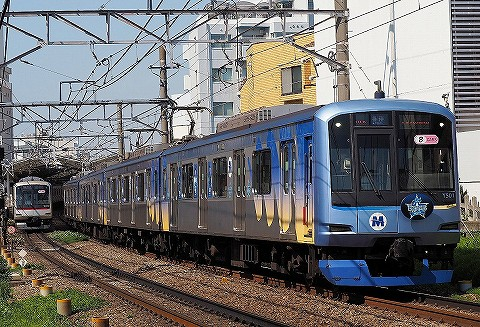 横浜高速鉄道Y500系@自由が丘'18.4.28
