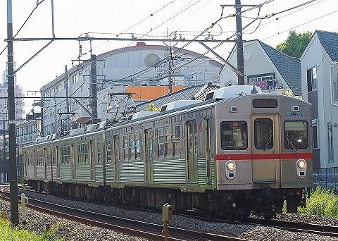 東急7700系@旗の台'18.4.28-1