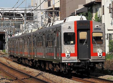 東急7700系@旗の台'18.4.28-2