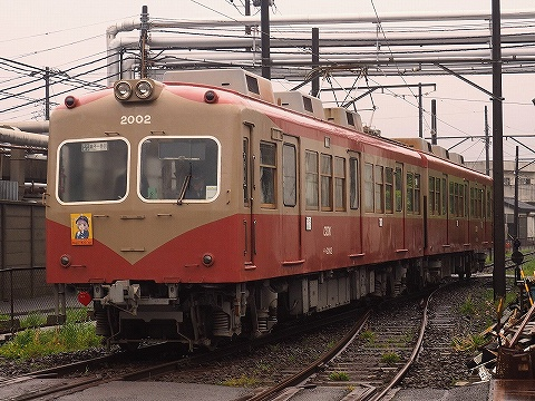 銚子電鉄2000形@仲ノ町'18.5.3