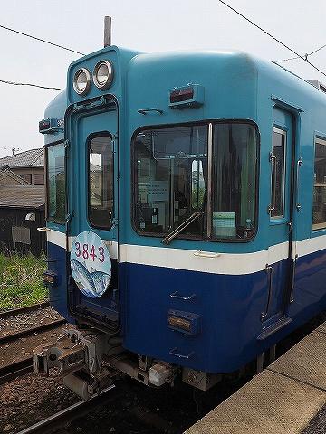 銚子電鉄3000形@外川'18.5.3