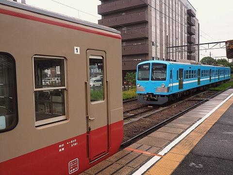 近江鉄道100形&800系@八日市'18.5.13