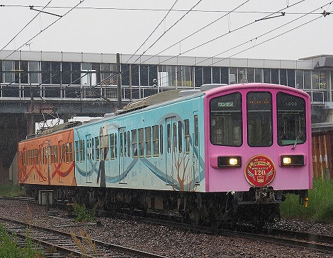 近江鉄道800系@近江八幡'18.5.13
