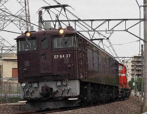 EF64‐37@宮原'18.5.26