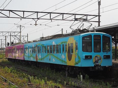 近江鉄道800系@高宮'18.6.26