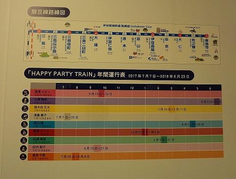 HPT運行表@アニメと鉄道展'18.7.26