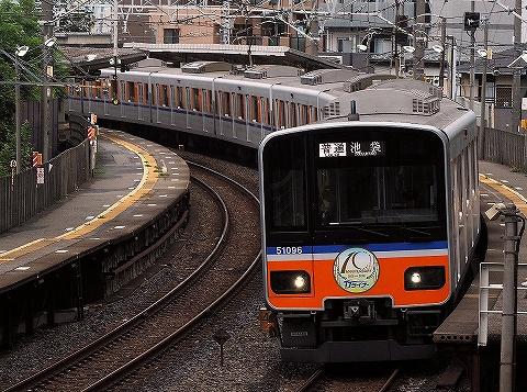 東武50090系@下板橋'18.8.12-1