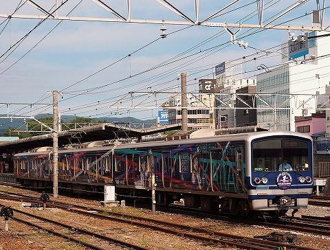 伊豆箱根鉄道3000系@三島'18.8.18