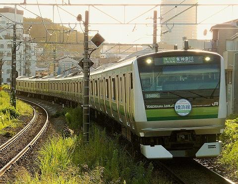 E233系@菊名'18.8.21