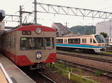 近江鉄道700系&800系@彦根'18.8.31