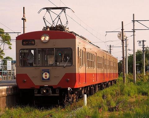 近江鉄道800系@鳥居本'18.8.31