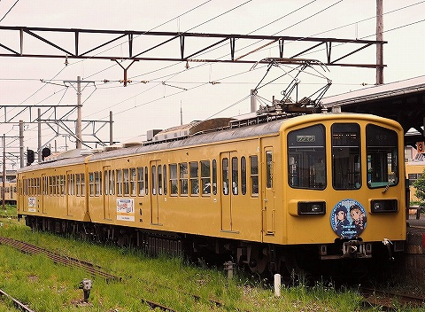 近江鉄道800系@高宮'18.8.31-1