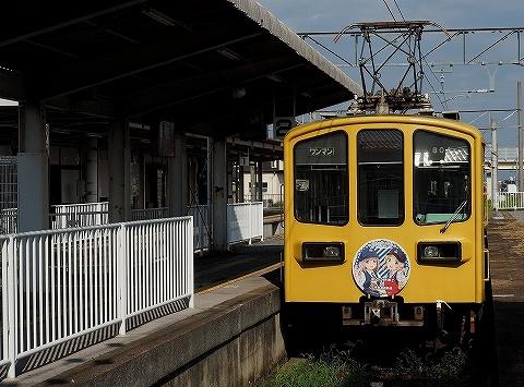 近江鉄道800系@多賀大社前'18.8.31-1