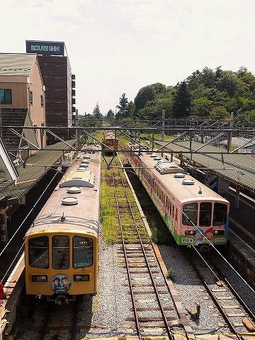 近江鉄道800系@八日市'18.8.31