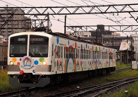 近江鉄道900形@彦根'18.9.1