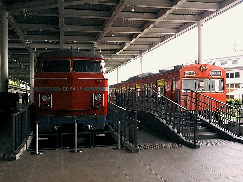DD54‐33&クハ103‐1@京都鉄道博物館'18.9.1