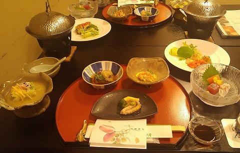 夕食@熱塩温泉山形屋'18.9.8