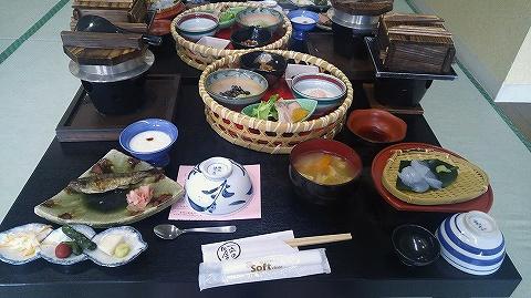 朝食@熱塩温泉山形屋'18.9.9