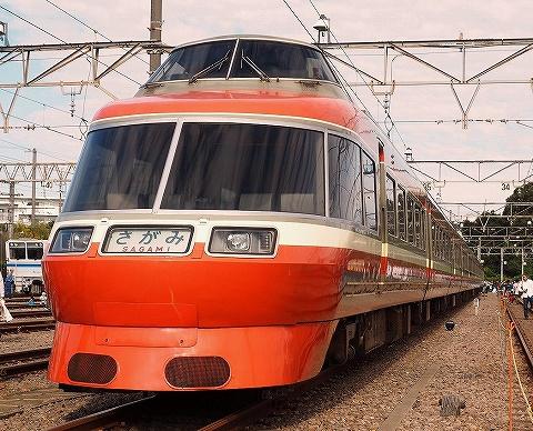 小田急7000形@小田急ファミリー鉄道展'18.10.20