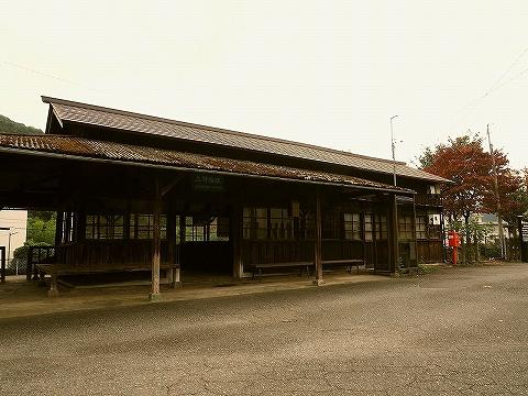 上神梅駅舎'18.10.26